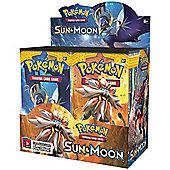 Pokemon Sun & Moon English Booster Box - 36 Packs