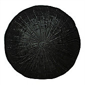 Riva Home Wellesley Noire Round Cushion 40cm