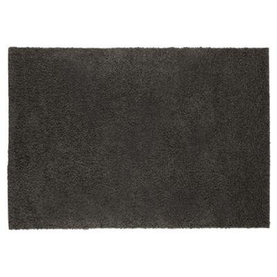 Tesco Alpine Shaggy Rug Charcoal 120X170Cm