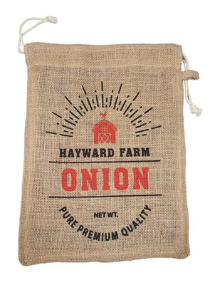 Eddingtons Hayward Farm Jute Onion Storage Bag