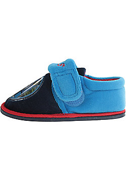 Thomas and Friends Slippers Navy Sizes 5 to 10 - Navy