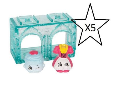 Shopkins Series 8 World Vacation 2 Pack - 5 Packs Supplied