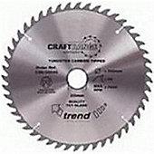 Trend CSB/23540 Trend CSB/23540 CRAFT SAW BLADE 235MM X 40T X 30MM - Silver