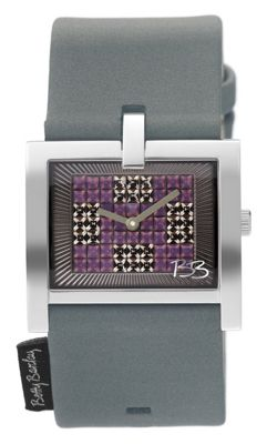 Betty Barclay Ladies Leather Stone Set Watch BB201.00.350.941