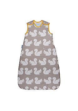 Grobag Anorak Kissing Squirrels 2.5 Tog Sleeping Bag - 0-6 Months