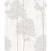 Superfresco Easy Paste the Wall Eternal White Mica Wallpaper