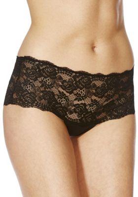 F&F Galloon Lace Shorts 12 Black