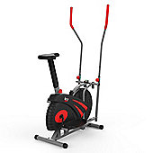 RevXtreme Old Skool 2.0 Cross trainer and Exercise Bike 2 in 1 Red