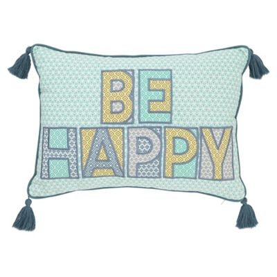 Tesco Be Happy Cushion