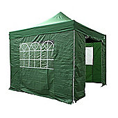 All Seasons Gazebos, Heavy Duty, Fully Waterproof, 3m x 3m Standard Pop up Gazebo Package in Green