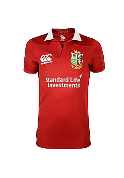 Canterbury British & Irish Lions Rugby Vaposhield Matchday Pro Jersey - Kids - 2016 - Red
