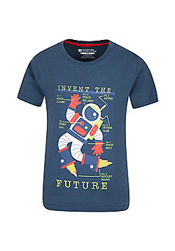 Mountain Warehouse INVENT THE FUTURE KIDS TEE - Blue