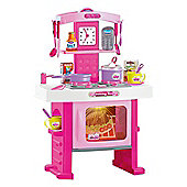 Pink Play at Home Kitchen Light & Sound Play Set