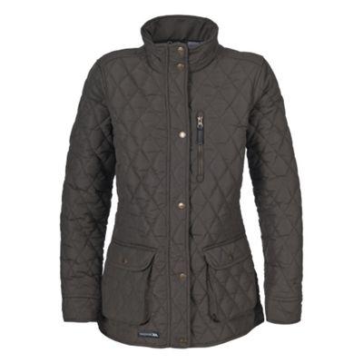 Trespass Ladies Bronwyn Quilt Jacket Khaki L