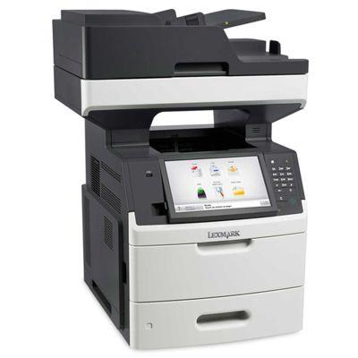 Lexmark MX711de Mono Laser Multifunction Printer (Print/Scan/Copy/Fax) 1GB (10.2 inch) Colour Touchscreen 66ppm (Mono)