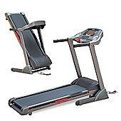 Homcom 2.5HP 0.8-18Km/h Incline Electric Running Treadmill Folding MP3