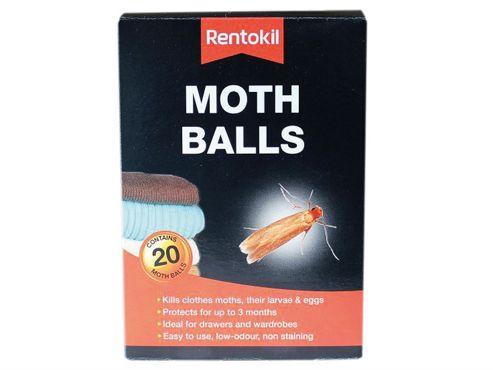 Rentokil Moth Balls (Pack of 20)