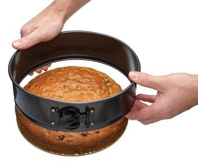 Non-stick Spring Form Cake Tin with Glass Base