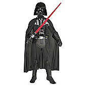 Rubie's Masqerade - Darth Vader Deluxe - Child Costume 7-9 years