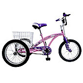 "Concept Tri-Mantis 16"" Wheel Girls Tricycle"