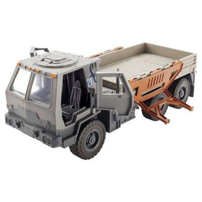 Jurassic World Movie Light And Sound Vehicle-Oshkosh M1083