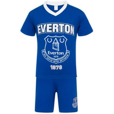 Everton FC Boys Short Pyjamas Royal 6-7 Years