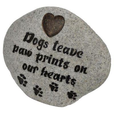 Dog -Paw Print Stone