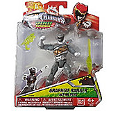 Power Rangers #42210 - 12cm Dino charge Figure (Graphite Ranger)