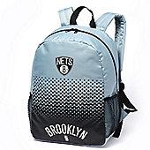 NBA Basketball Brooklyn Nets Fade Backpack Sports Bag 37x26x16cm