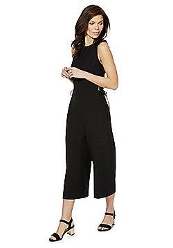 F&F Wide Leg Jumpsuit - Black