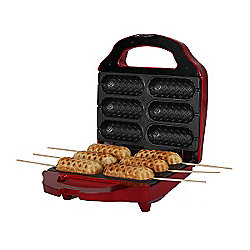 Gourmet Gadgetry Retro Diner Stick Snack Maker - Red