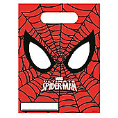 Marvel Ultimate Spiderman Party Bags (pack of 6)