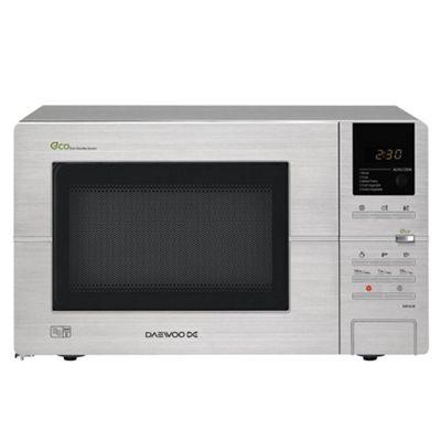 Daewoo KOR6L5R 20 Litre 800W Digital Microwave - Stainless Steel