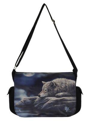 Lisa Parker Quiet Reflection Messenger Bag