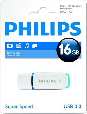 Philips 16GB USB Flash Drive Super Speed 3.0 Snow Edition