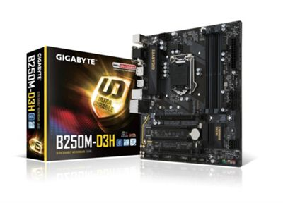 Gigabyte GA-B250M-D3H Intel 1151 Motherboard