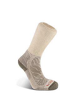 Bridgedale Mens Merino Fusion Trail Sock - Brown