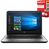 "HP 14-an060sa 14"" Laptop AMD E2-7110 Quad Core 4GB 1TB Windows 10 with Internet Security"