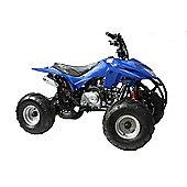Hawkmoto 110cc Storm Trooper 4 stroke Quad Bike Blue W/ Reverse