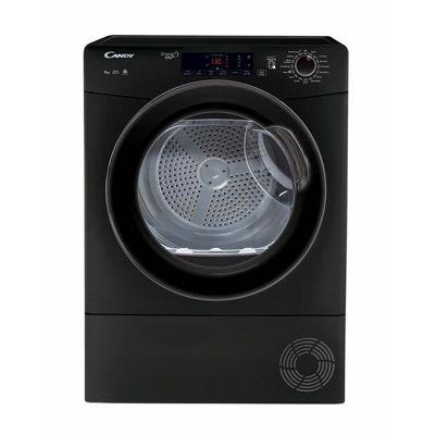 Candy GSVC9TGB 9KG Tumble Dryer in Black