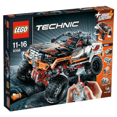 LEGO Technic Remote Control 4x4 Crawler Jeep 9398