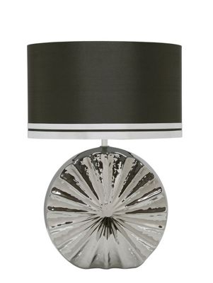 47cm Coastal Round Table Lamp