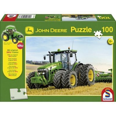 John Deere With Twin Tyres Puzzle