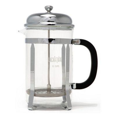 La Cafetiere Classic 12 Cup Coffee Maker in Chrome
