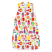 Grobag Travel Baby Sleeping Bag - Fruit Cocktail 0.5 tog (18-36 months)