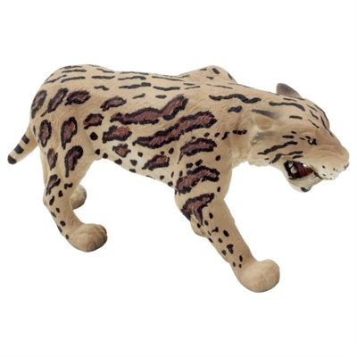 Smilodon Saber-toothed Tiger Figurine Toy by Animal Planet