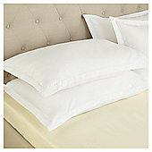Fox & Ivy Egyptian Cotton 200 Thread Count   Deep Fitted Sheet - Ivory