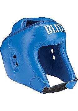 Blitz - Pro Boxing Semi Face Head Guard - Blue