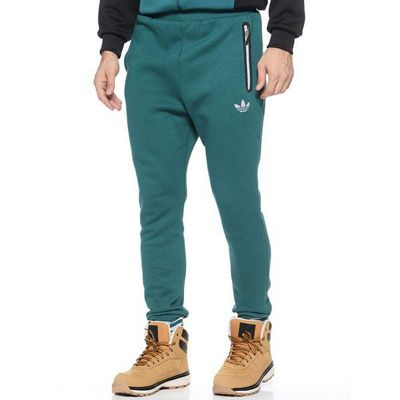 adidas Originals Mens Low Crotch Sweatpants - Green - S
