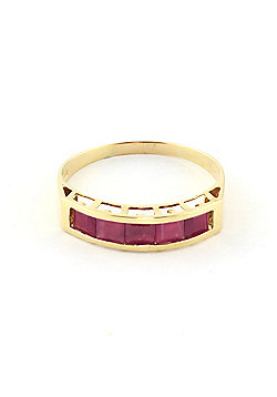 QP Jewellers 2.50ct Ruby Prestige Ring in 14K Gold
